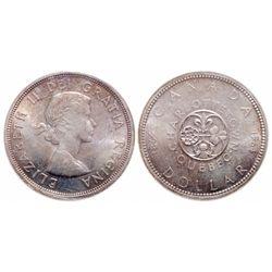 $1.00. 1964. ICCS MS-65.