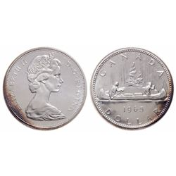 $1.00. 1965. Small Beads, Blunt 5. ICCS PL-66.