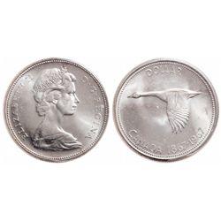 $1.00. 1967. ICCS MS-65.