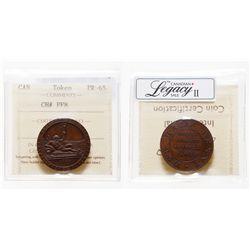 PF-8. Half-penny token. 1794. ICCS PR-65.