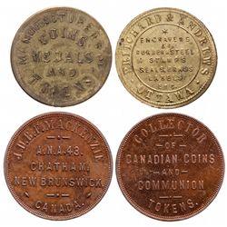 J.D.B.F. MacKenzie. A.N.A. 49. Chathan, New Brunswick. Canada. Collector o….