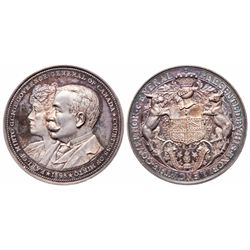 GOVERNOR GENERAL Medal. Earl of Minto. 1898-1904. Clowery-108. Silver.….