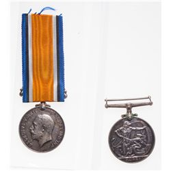 Lot of two (2) Canadian Medals. 1914-1918 WWI; 1950-1953 Korea.