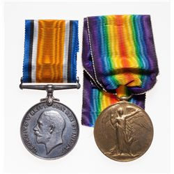 Canada. 1914-1919. WWI pair, EF. British War and Victory Medals.