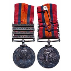 Queen's South Africa war medal. EF-40. 1899-1902.