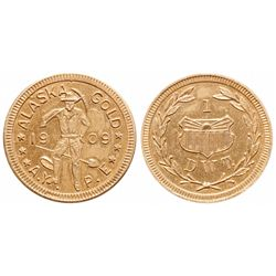 Alaska Gold. A.Y.P.E. (Alaska-Yukon Pacific Expo.). 1 DWT. (One Pennyweig….