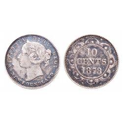 1873. Obverse port. #2. ICCS Fine-15.