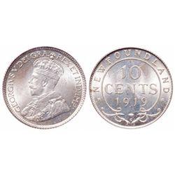 1919-C. PCGS graded Mint State-65. A brilliant Gem.