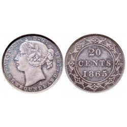 1865. Both ICCS and PCGS graded AU-58. Even medium heavy to heavy gray to….