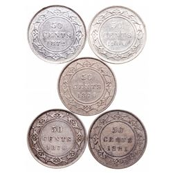 1870. Very Fine-20; 1872-H. Very Fine-30; 1876-H. Very Fine-20; 1881.….