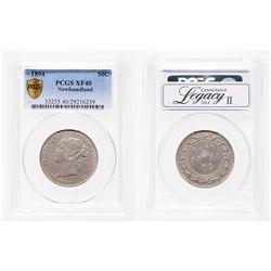 Newfoundland. 50 Cents. 1894. PCGS EF-40.