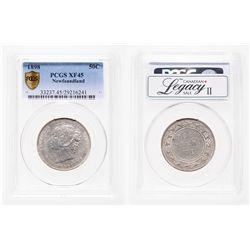 Newfoundland. 50 Cents. 1898. PCGS EF-45.