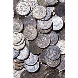 Bulk Lot of George VI 5 Cents.