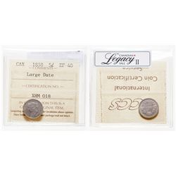 5 Cents. 1858. ICCS EF-40.
