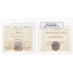 5 Cents. 1884. ICCS EF-40.