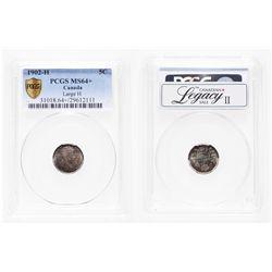 5 Cents. 1902-H. PCGS MS-64+.