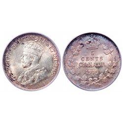 5 Cents. 1915. PCGS MS-65.