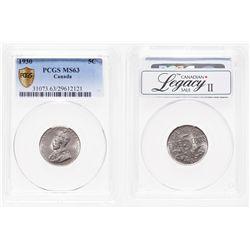 5 Cents. 1930. PCGS MS-63.