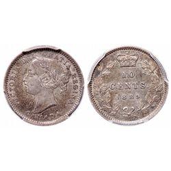 10 Cents. 1889. PCGS AU-50.