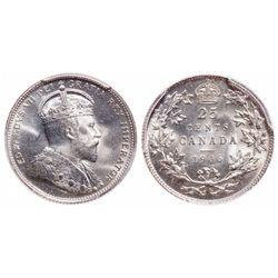 25 Cents. 1906. PCGS MS-64+.