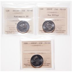 2002P. ICCS Mint State-66. Tied for the second 'Finest' certified by ICCS….