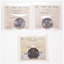 2005P. ICCS Mint State-67. Tied for the 'Finest' certified by ICCS; 2005….