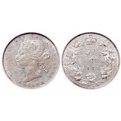 50 Cents. 1888. PCGS AU-53.