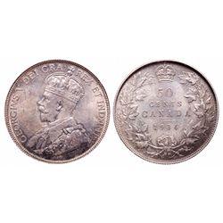 50 Cents. 1936. PCGS MS-65.