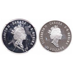 A Unique Major Mint Error. 15 Dollar. 1992. NGC PR-68.