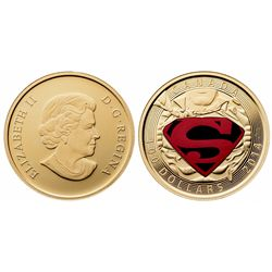 ERROR Superman $100 Gold Coin 2014. NGC PR-69.