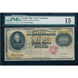United States. $10,000 Gold Certificate. 1900. Fr#1225h. PMG F-15.