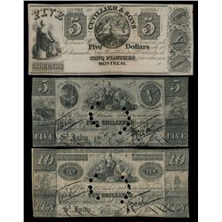 BENJAMIN SMITH. Saint John, N.B. 5 Shillings. June 4, 1835. NB25-10-02.….