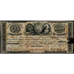 DISTRICT OF WELLINGTON. 5 Shillings ($1.00). Dec. 1, 1848. MU-6. No. 544.….