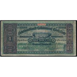 NEWFOUNDLAND GOVERNMENT CASH NOTE. $1.00. 1910-11. NF-9a. No. 27684. A….