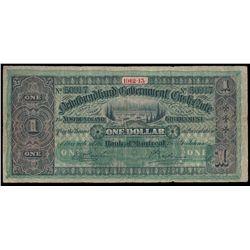 NEWFOUNDLAND GOVERNMENT CASH NOTE. $1.00. 1912-13. NF-9c. No. 50917. V….