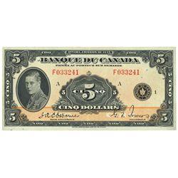 $5.00. 1935. BC-6. PMG AU-55 EPQ.
