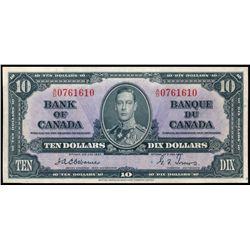 $10.00. 1937. BC-24a. EF-45.