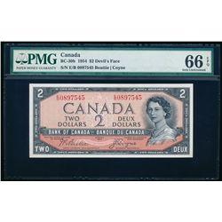 $2.00. 1954. BC-30b. PMG GUNC-66 EPQ.