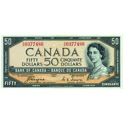 $50.00. 1954. BC-34a. PMG CUNC-64 EPQ.