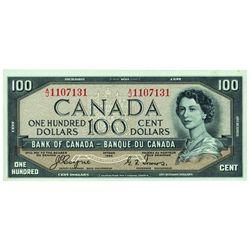 $100.00. 1954. BC-35a. PMG CUNC-64 EPQ.