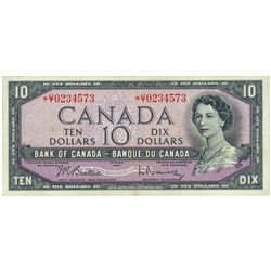 $10.00. 1954. BC-40bA. PMG VF-35.