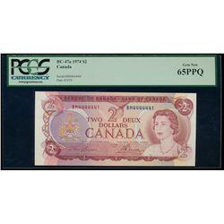 $2.00. 1974. BC-47a. PCGS GUNC-65 EPQ.