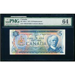 $5.00. 1972. BC-48bA. PMG CUNC-64.