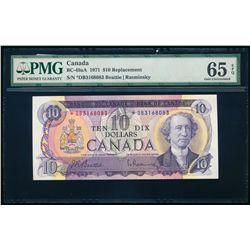 $10.00. 1971. BC-49aA. PMG GUNC-65 EPQ.