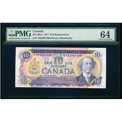 $10.00. 1971. BC-49bA. PMG CUNC-64.