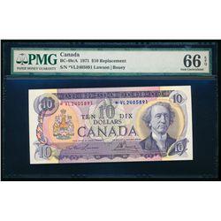 $10.00. 1971. BC-49cA. PMG GUNC-66 EPQ.