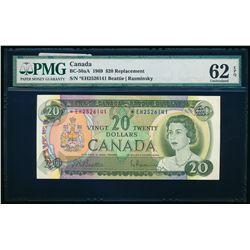 $20.00. 1969. BC-50aA. PMG UNC-62 EPQ.
