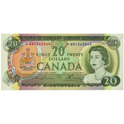 $20.00. 1969. BC-50bA. PMG CUNC-64 EPQ.