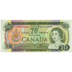 $20.00. 1969. BC-50bA. PMG AU-53 EPQ.