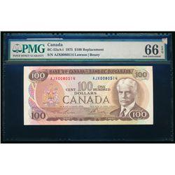 $100.00. 1975. BC-52aA-i. PMG GUNC-66 EPQ.